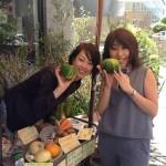 今日も開店☆自然栽培の野菜マルシェ@代官山