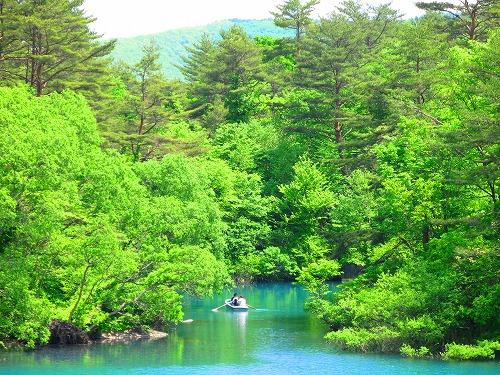 五色沼2007初夏2