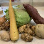 【無農薬野菜de常備野菜《ダイコン葉の炒め煮》】京都 丹波産 無農薬の野菜