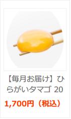 【お試し】ひらがいタマゴ 京都府 美山産 10個