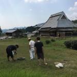 【新築予定地の測量@京丹波町】