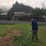 【草刈り&畑仕事@週末の朝】