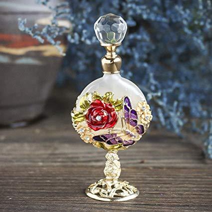 《[個数限定]クリスタルボトルスペシャルエディション》Perfume of ROSE for Women ローズの香水(女性用)】(7mL)
