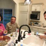 【田舎の醍醐味☆《『広々キッチン』でみんなで料理を楽しよう!!》神奈川に住む両親が遊びに来た!!】
